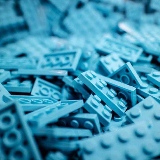 Campanha publicitaria da marca Lego