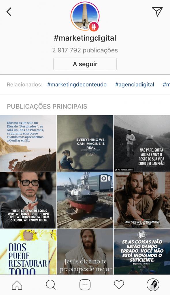 Instagram: como usar Hashtags correctamente