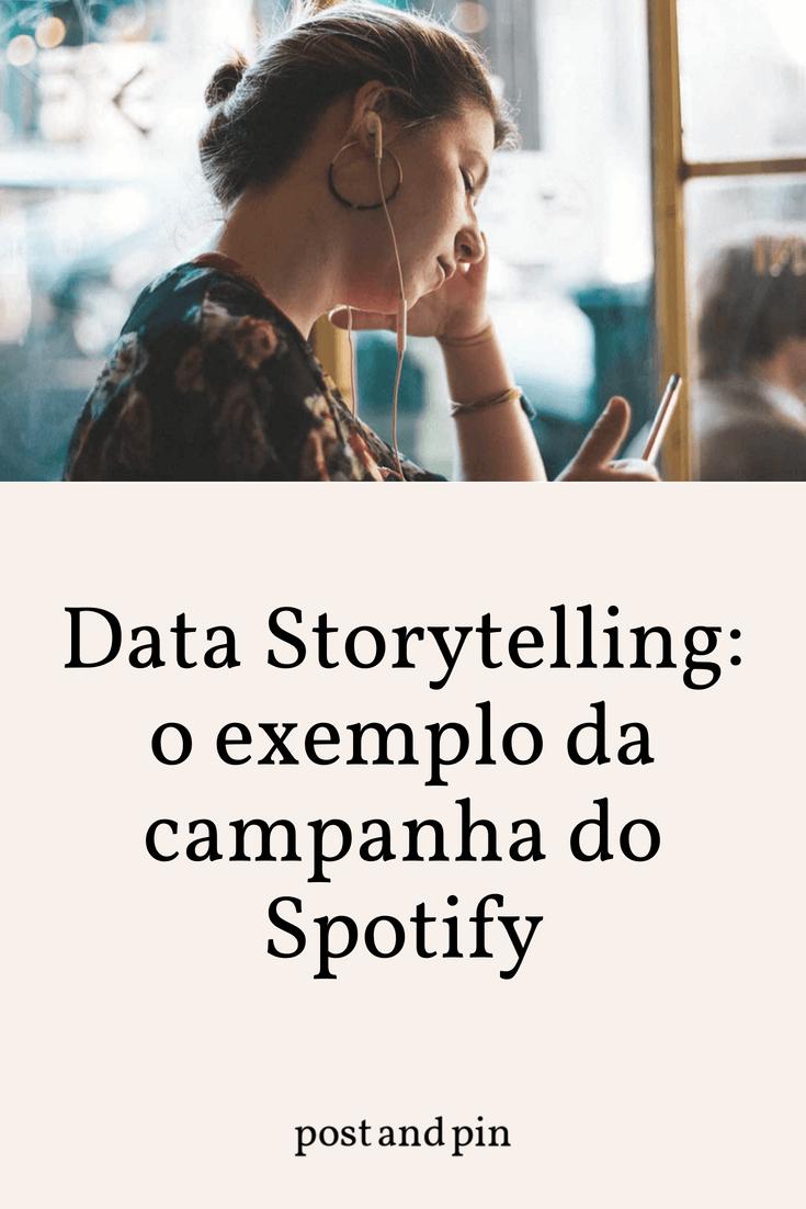 Data Storytelling: o exemplo da campanha do Spotify