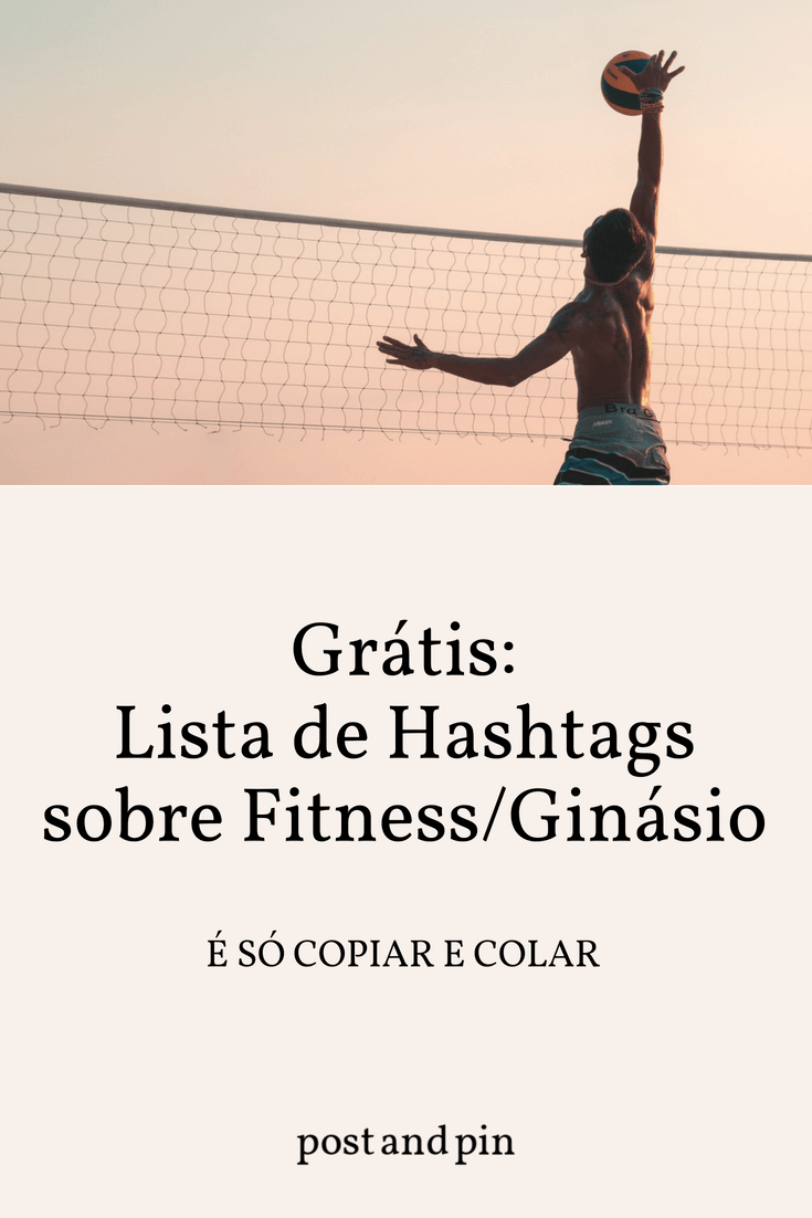 As melhores hashtags para o Instagram sobre Fitness/Ginásio