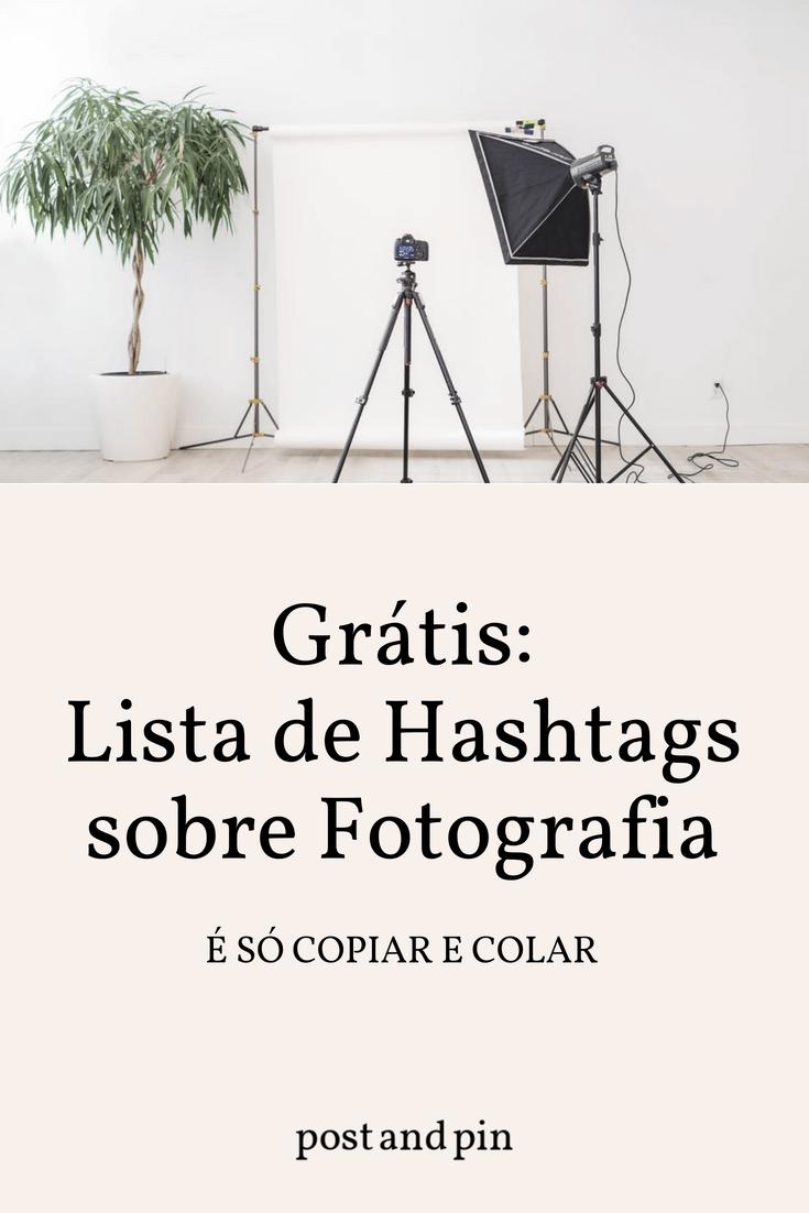 As melhores hashtags para o Instagram sobre Fotografia