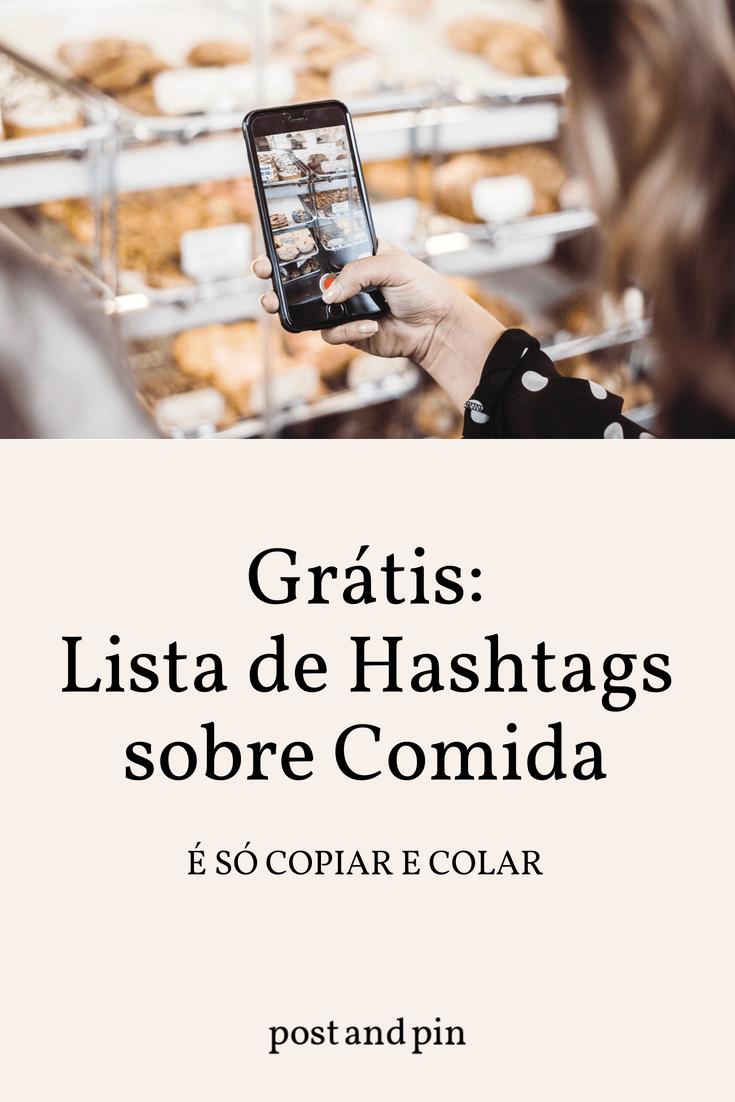 As melhores hashtags para o Instagram sobre Comida