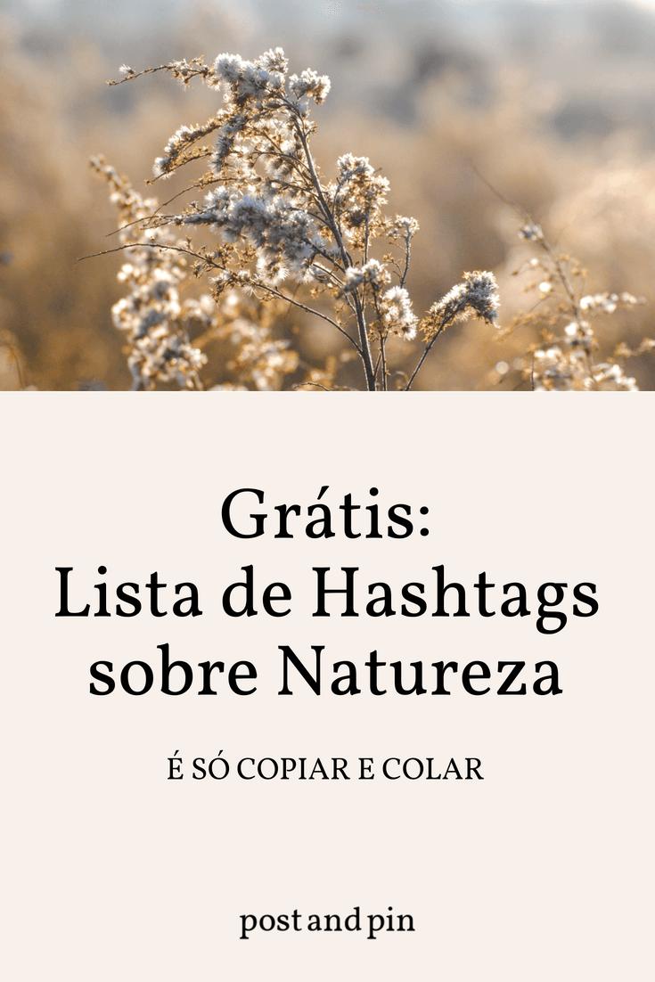 As melhores hashtags para o Instagram sobre Natureza
