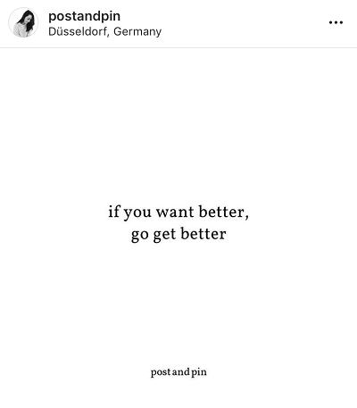 Ideias para quando não tens nada para partilhar no Instagram: Frases