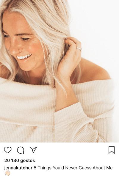 Inspiração para posts no Instagram: Factos sobre ti