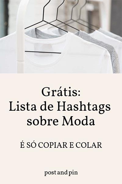 As hashtags mais usadas sobre Moda no Instagram